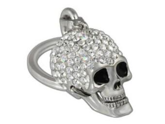 Crystal Skull Schlüsselanhänger
