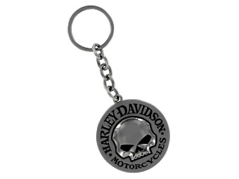 Willie G Skull Logo Schlüsselanhänger