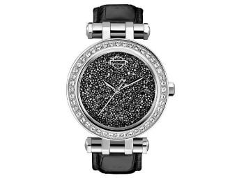 Sparkly Bling Cincinnati Black Uhr