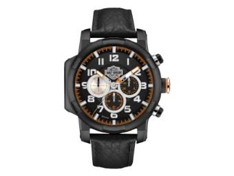 Bar & Shield Chronograph Piston Case Uhr