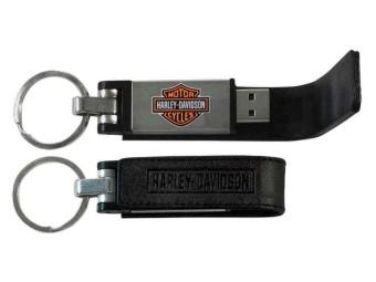 Bar & Shield Metal USB Stick