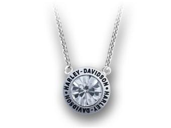 White Stone H-D Halskette