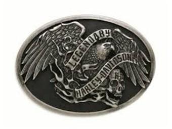 Skull Eagle Gürtelschnalle
