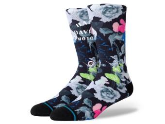 Harley Flower Power Stance Socken