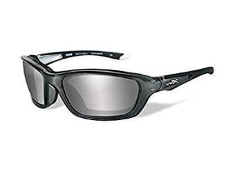 Brick Smoke Grey Silver Sonnenbrille