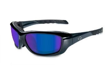 Gravity Blue Mirror Black Sonnenbrille