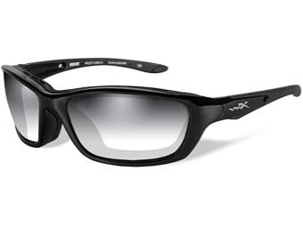 Brick LA Smoke Grey Metallic Sonnenbrille