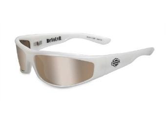 Relvolver Silver Flash Pearl White Sonnebrille
