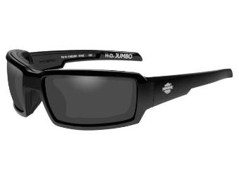 Jumbo Smoke Grey Gloss Sonnenbrille