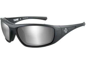 Tank PPZ Grey Silver Flash Matt Sonnenbrille