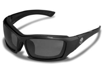 Willi G Skull Grey Silver Flash Sonnenbrille