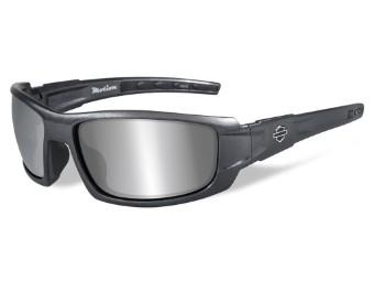 Motion Grey Silver Flash Sonnenbrille