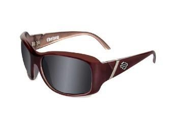 Chelsea Smoke Grey Plum Sonnenbrille
