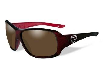 Abby Bronze Red Sonnenbrille