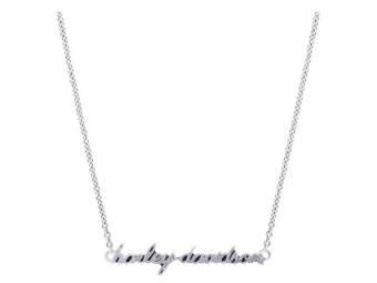 H-D Schrift Halskette