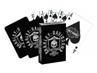 Willi G Skull Spielkarten