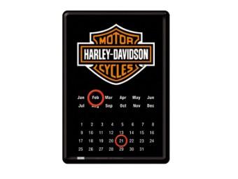 Bar & Shield Logo Postkarten Kalender