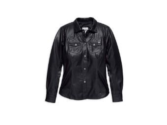 Leather Melrose Hemd