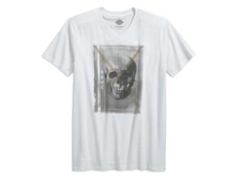 Skull HDMC V-Neck T-Shirt