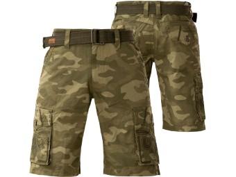 Shorts Cargohose Negotiate Camouflage