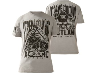 Xtreme Couture by Affliction T-Shirt Oil & Gasoline in grau