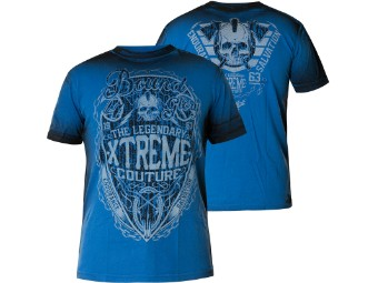 Xtreme Couture by Affliction T-Shirt Spirit Warrior in blau