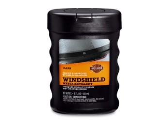 Regenabweisendes Mittel für die Windschutzscheibe
