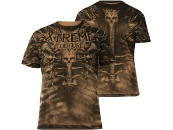 T-Shirt Charred Remain Braun
