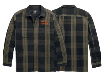 H-D Hemdjacke Arched Plaid