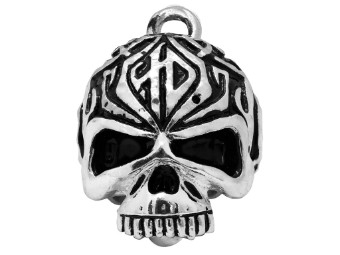 Ride Bell Sculpted Tribal Skull