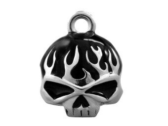 Ride Bell Classic Willi G Skull Flame