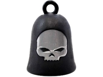Ride Bell Willi G Skull Black/Silver