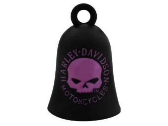 Ride Bell Pink/Black Skull