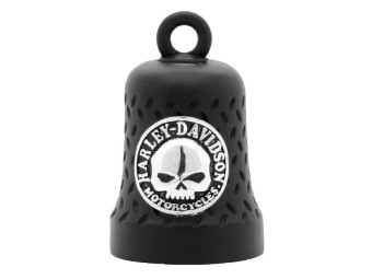 Ride Bell Black Matt Skull