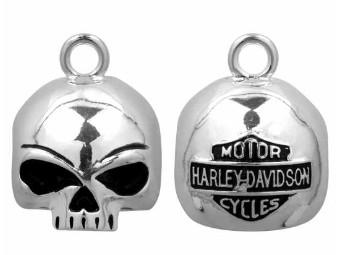 Ride Bell Round Willi G Skull
