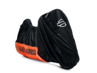 Motorradplane für Innen schwarz & orange