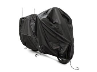 Motorradplane für Innen & Außen, schwarz
