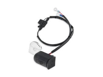 12V Zusatz-Stromanschluss zur Hupenmontage