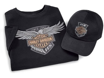 115th Anniversary 2-Pk Limited Edition Ride Pack