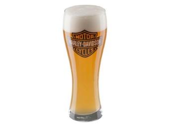 Harley-Davidson® Bar & Shield Logo Pilsner Glas