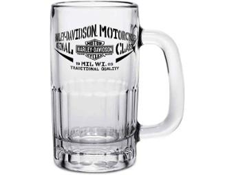 Harley Davidson Bier Glas
