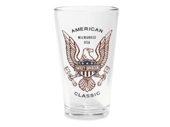 Bier Glas American Classic Print