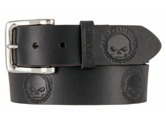 Gürtel Willies World Belt Black