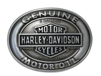 Gürtelschnalle Genuine Motor Oil