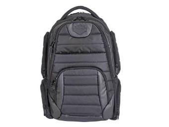 Rucksack Quilted Backpack Black