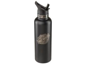 Wasserflasche Bar & Shield