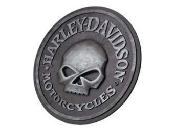 Schild H-D Skull Pub Sign Wandbild