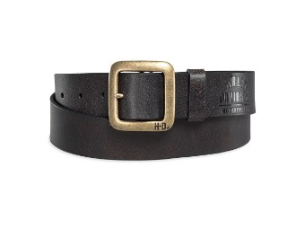 Brass Finish Buckle Belt