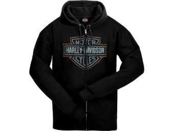 Hoody Bar & Shield Zip