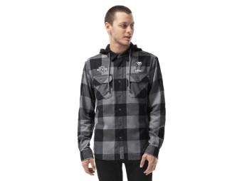 Lined Plaid Slim Fit Jacket